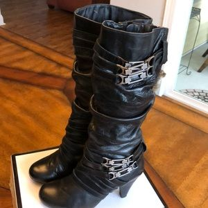 Two Lips Leather Boots Size 7.5